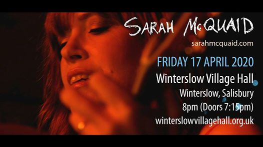 Sarah McQuaid - Winterslow Village Hall