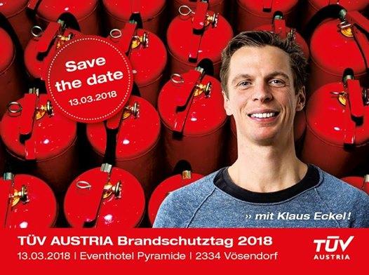 TÜV AUSTRIA Brandschutztag 2018 in Salzburg