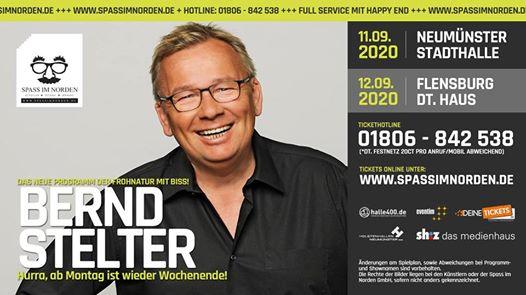 Bernd Stelter: Hurra, ab Montag ist wieder Wochenende!