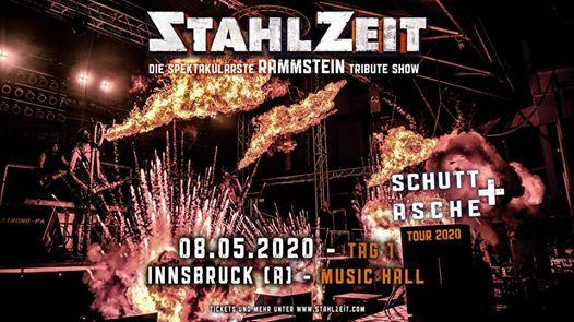 STAHLZEIT in Innsbruck [A] + Music Hall - Tag 1 von 2