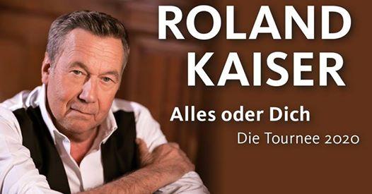 Roland Kaiser - Alles oder Dich - Die Tournee 2020   Frankfurt