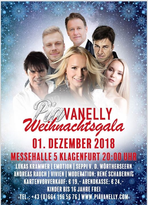 Pia Vanelly Weihnachtsgala