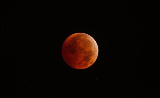 Totale Mondfinsternis - 2025