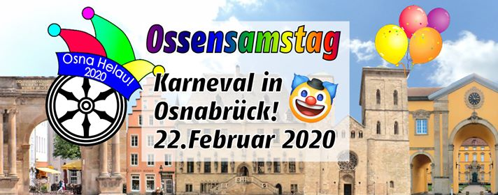 Ossensamstag Karneval in Osnabrück 22.2.2020 Osna Helau! :D
