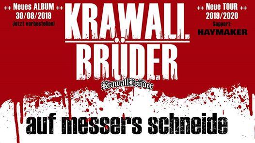 KrawallBrüder - Auf Messers Schneide Tour 2020 - Magdeburg