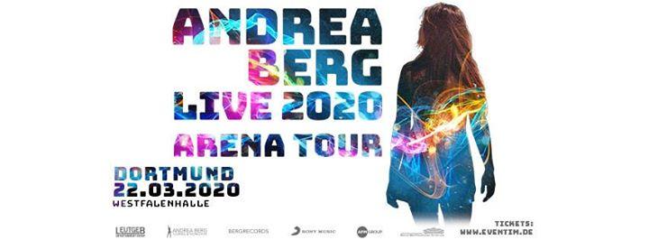 Andrea Berg Live 2020 - Arena Tour Dortmund