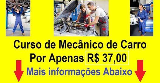 Curso de mecânica automotiva em Manaus