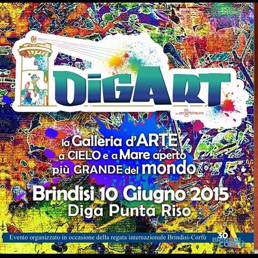 '' DigArt '' la galleria a cielo e mare aperto piu' grande del Mondo #stree