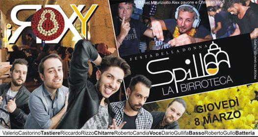 Festa Della Donna • SPILLO • AperiDinner, Live, Dj Set & Cristian Vinci