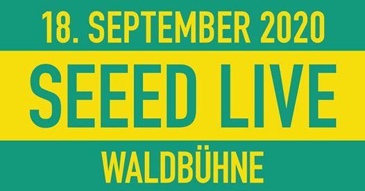Ausverkauft: SEEED - LIVE 2020 | Berlin - Waldbühne