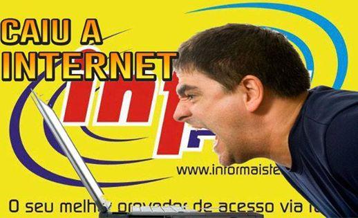 Simpósio para descobrir quando a Infornet vai parar de cair