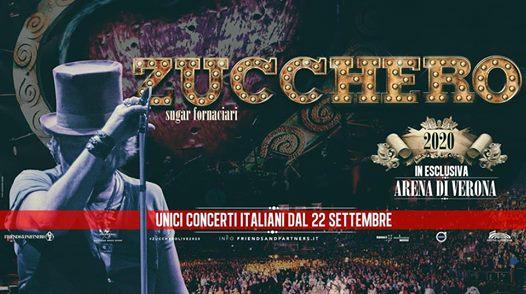 Zucchero Arena di Verona 2020