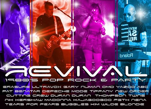 Revival 80s party night at the Hare and Hounds