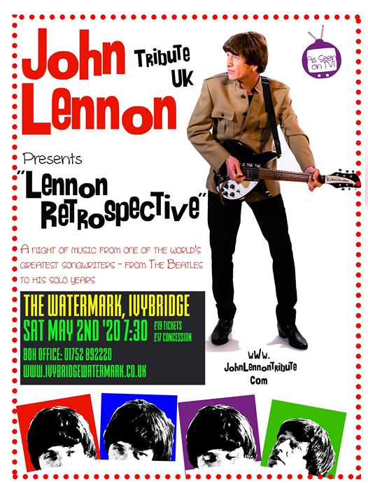 John Lennon Tribute UK Ivybridge