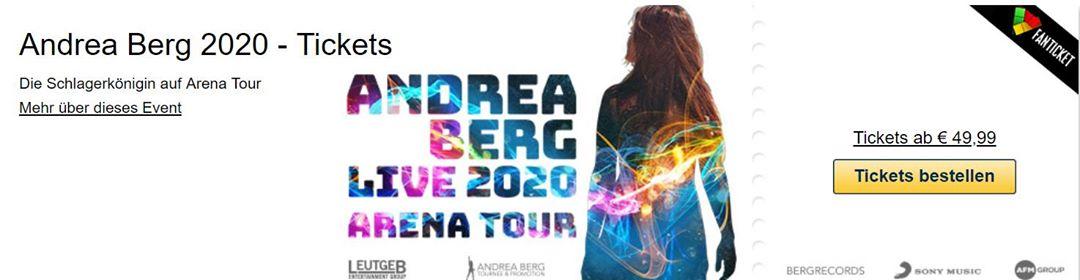 Andrea Berg I Österreich TOUR 2020