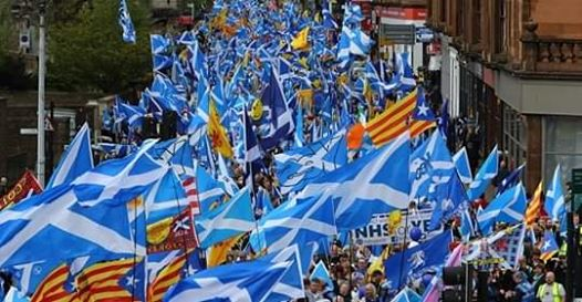 March for Independence- Stranraer