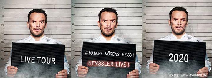 Steffen Henssler- Manche Mögens Heiss – Henssler live - Jena