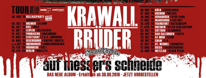 KrawallBrüder - Auf Messers Schneide Tour 2020 - Bochum