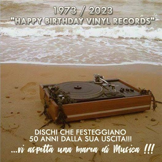 Happy birthday vinyl records