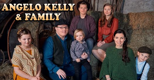 Angelo Kelly & Family - Irish Christmas Tour 2020   Nürnberg