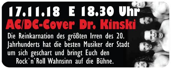 AC/DC Coverband - Dr. Kinski