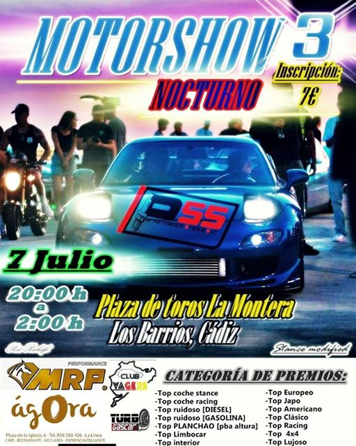 3 Motorshow Los Barrios