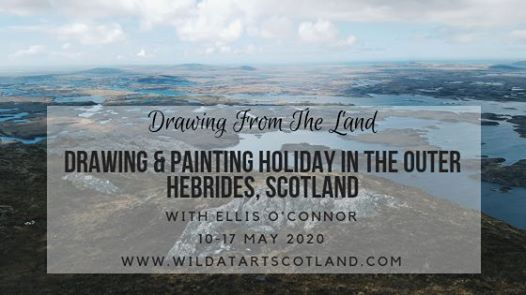 Drawing from the Land - Art holiday with Ellis O'Connor