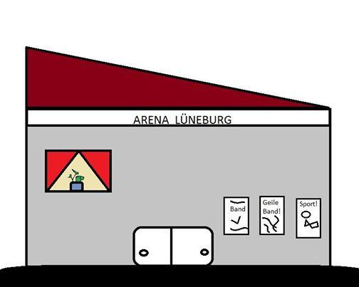Eröffnungsfeier - Arena Lüneburg