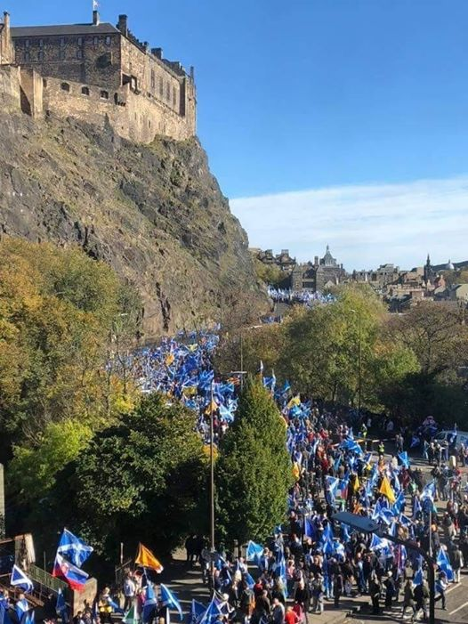 March for Independence- Stirling