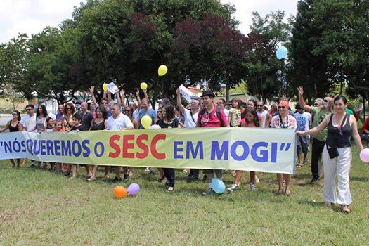 Inauguração do SESC Mogi das Cruzes [ Sonho ]