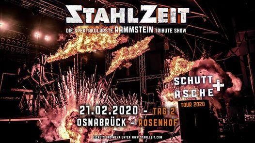 STAHLZEIT in Osnabrück [DE] + Rosenhof - Tag 2 von 2