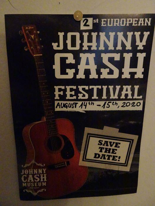 2.Europäische Johnny Cash Festival 14.-15. August 2020