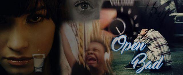 OPEN BAD - doses de lágrimas grátis, ao som de música triste