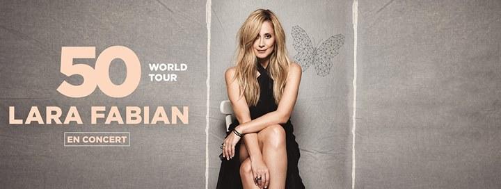 Lara Fabian - 50 World Tour