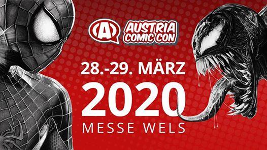 Austria Comic Con 28.-29. März 2020 Messe Wels