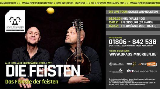 Die Feisten: Das Feinste der feisten auf Schleswig-Holstein Tour