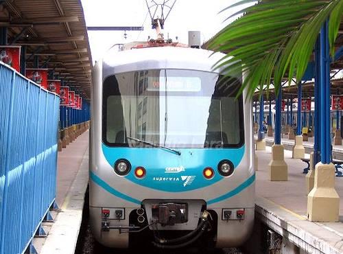 Viagem De Japeri a Central do Brasil só pra usar o ar condicionado do trem