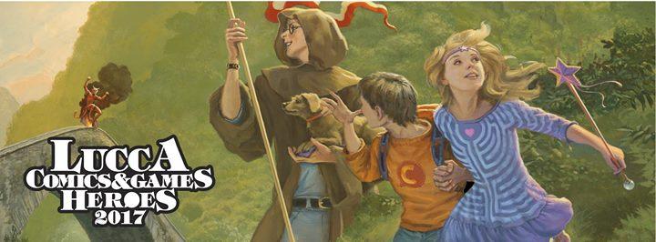 Lucca Comics & Games 2017 ! Heroes !