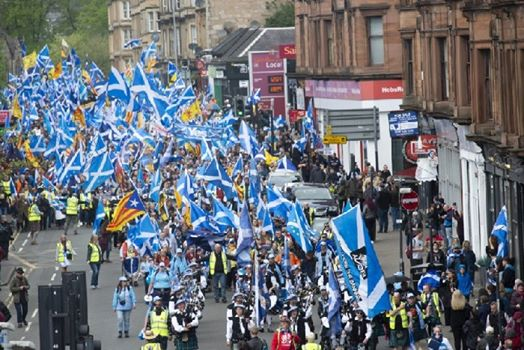 March for Independence- Kirkcaldy