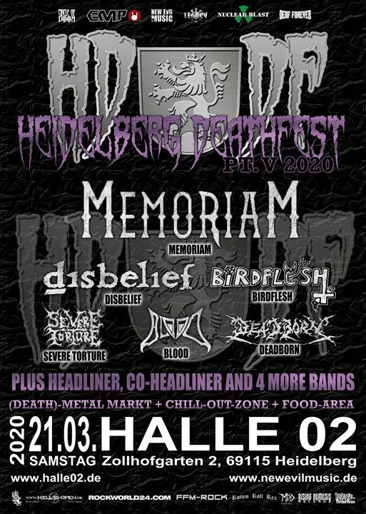 Heidelberg Deathfest 2020 - Part V