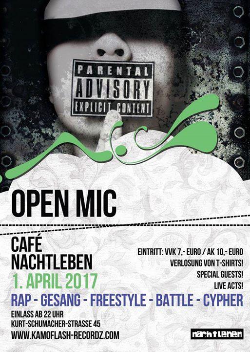 Open Mic Cypher Runde #8 Nachtleben Frankfurt