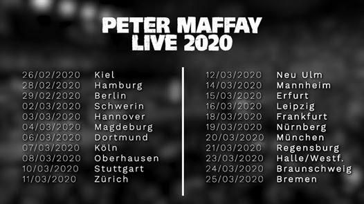 Peter Maffay - LIVE 2020 | Bremen