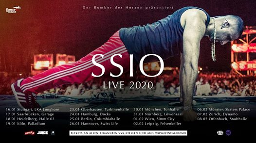 SSIO · Simm City · Wien (Verschoben)