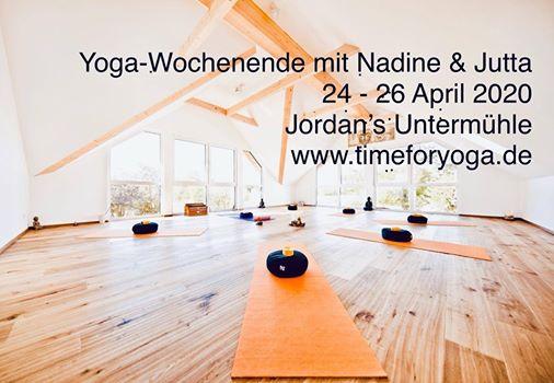 Lebensfreude PUR - Yogawochenende in Rheinhessen